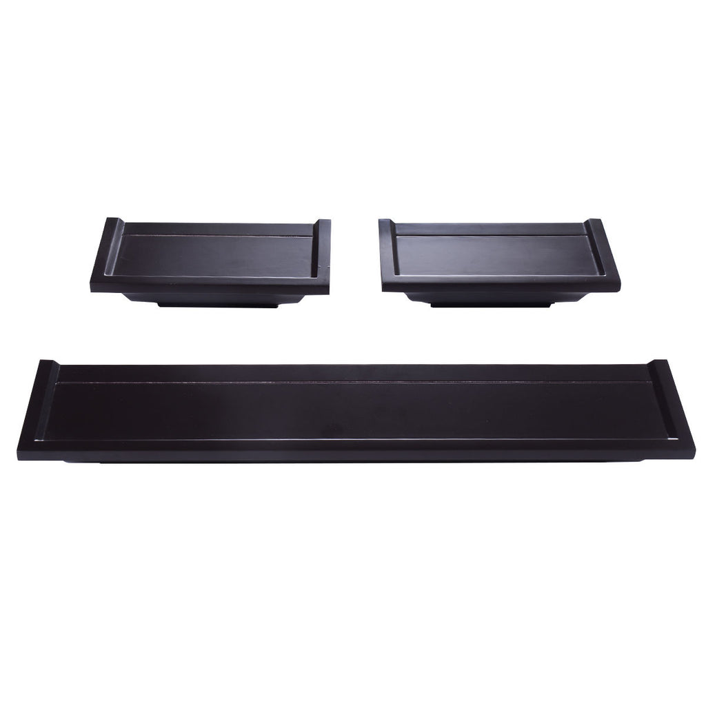 A Set of 3 Fireplace Mantel Shelf
