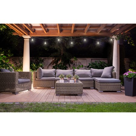 Better Homes & Gardens Outdoor LED Cafe String Lights
