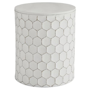 Signature Design by Ashley Polly 17 in. Indoor/Outdoor Garden Stool