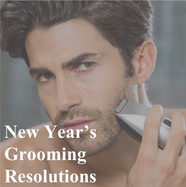 New Year's Grooming Resolutions