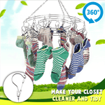 Stainless Steel 360 Degree Hanger Rack