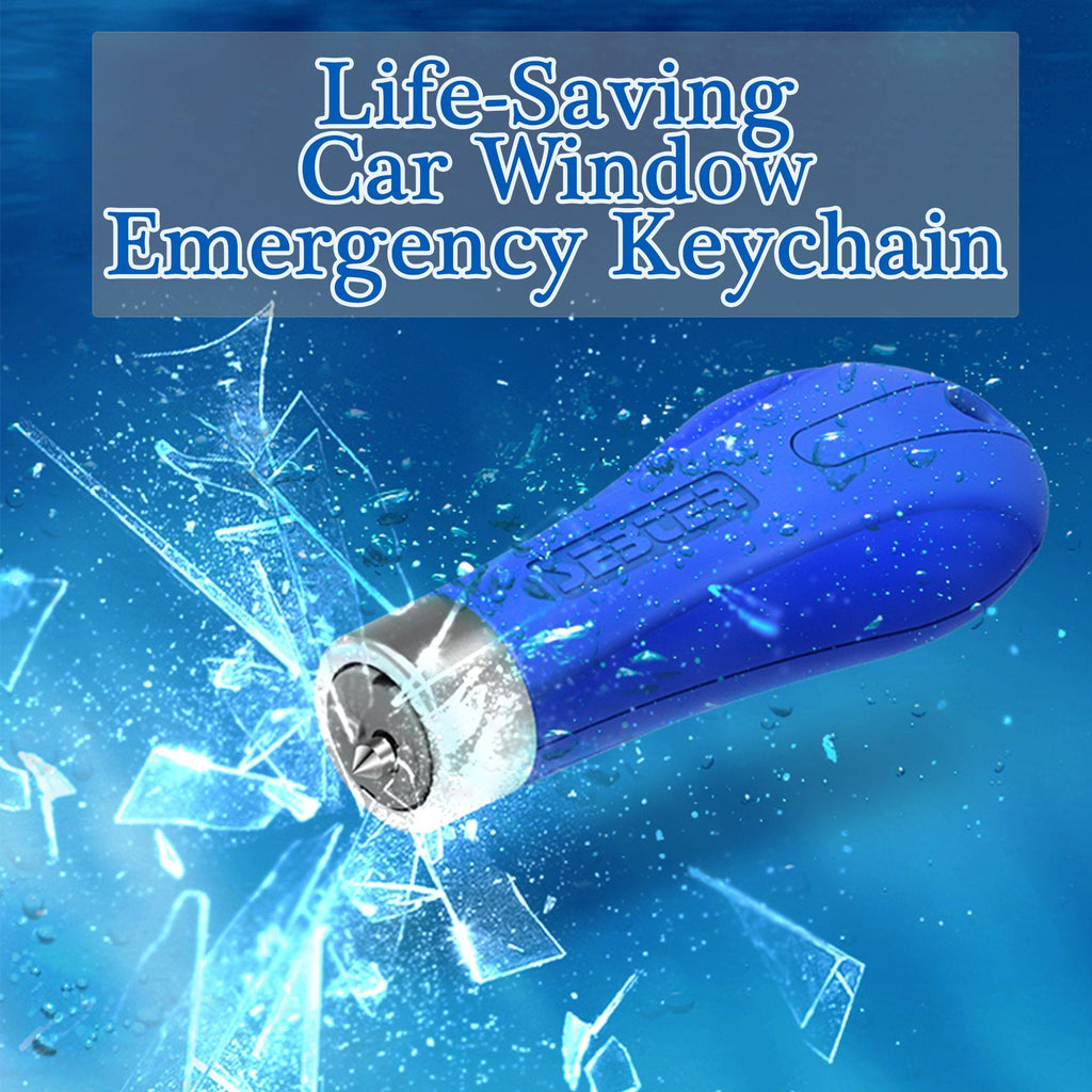 Life-Saving Car Window Emergency Keychain