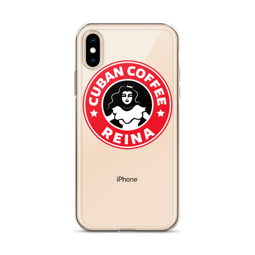 Cuban Coffee Queen Red iPhone Case