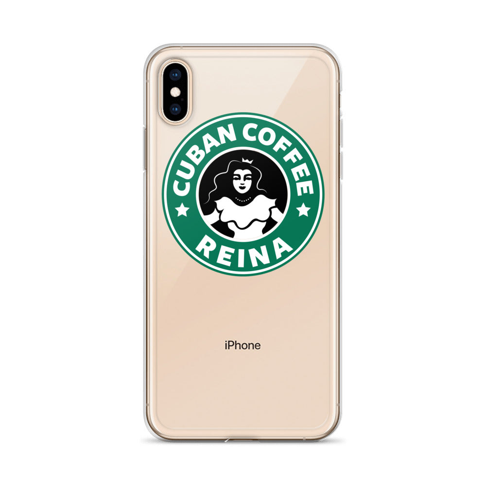 Cuban Coffee Queen Green iPhone Case