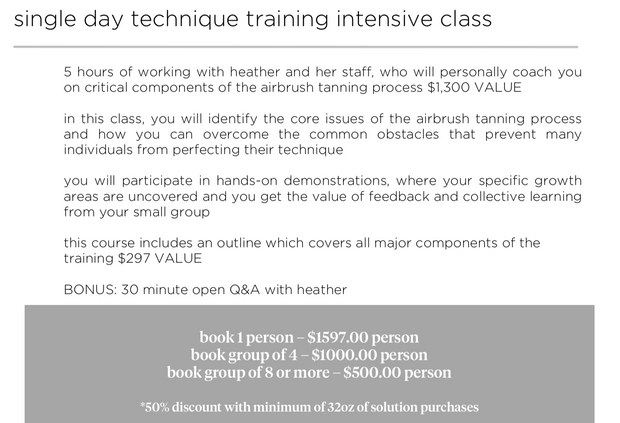 heather® method - training & certification programs