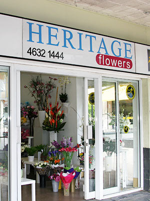 Outside Heritage Flowers