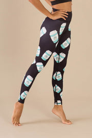 But First Coffee Flexi Pants - Flexi Lexi Australia