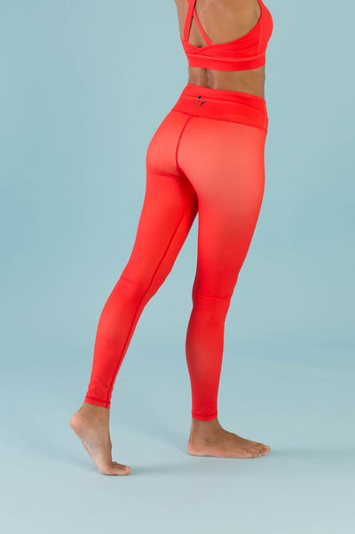 Hello Girlfriend Flexi Pants - Red - Flexi Lexi Australia
