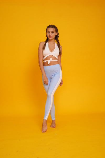 Into The Blue Leggings - Flexi Lexi Australia