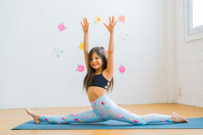 Mermaid Flexi Pants Kids and Minis - Flexi Lexi Australia