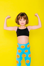 Oranges of My Eyes Flexi Pants Kids and Minis - Flexi Lexi Australia