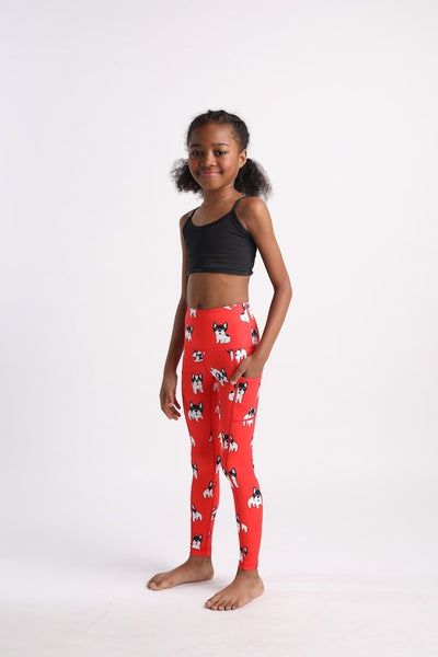 Pardon My Frenchie Mini Flexi Pants - Flexi Lexi Australia