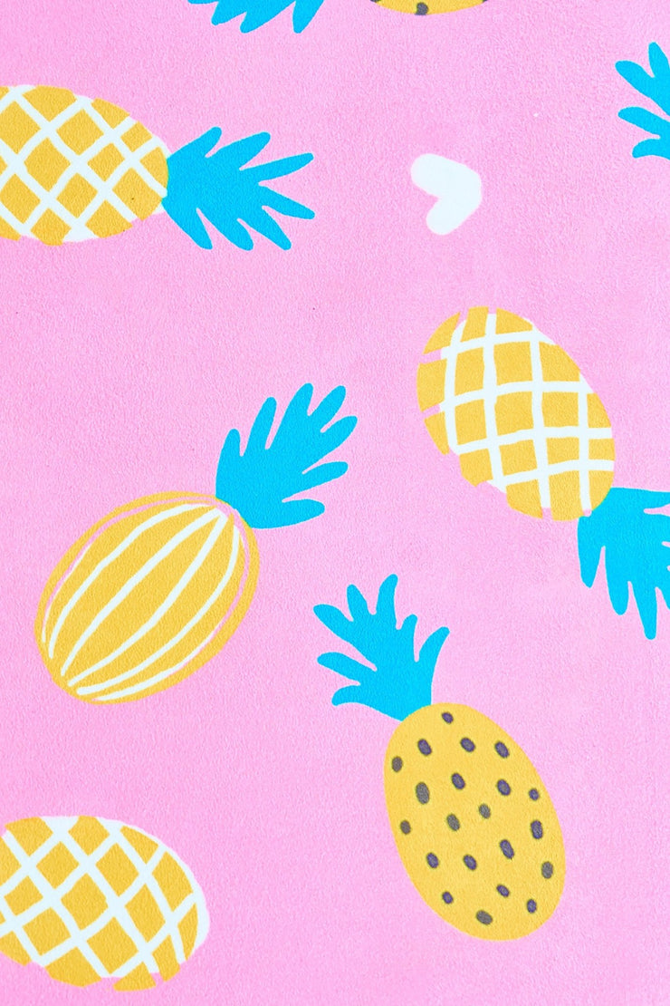Pineapple of My Mat Flexi Yoga Mat Adults and Kids - Flexi Lexi Australia