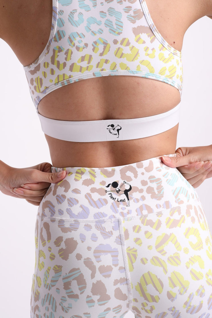 You've Been Spotted Flexi Sports Bra - Flexi Lexi Australia