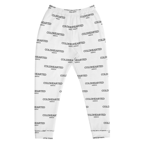 COLDEARTED MERCH JOGGERS (WHITE)