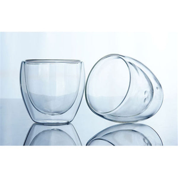 Double Wall Transparent Coffee Cup