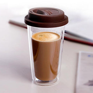 Double Wall Glass Coffee Mug