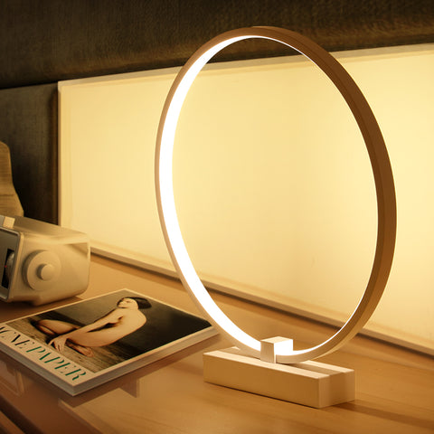Modern Ring Table Lamp