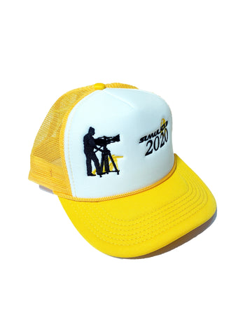 Cinematographer Trucker Hat Yellow