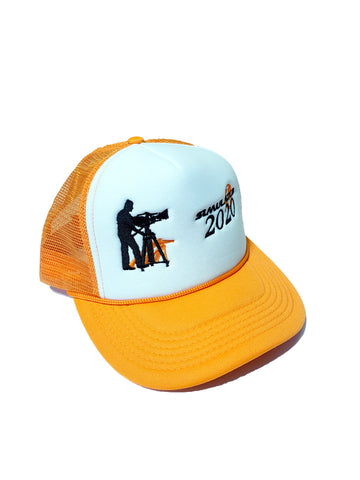 Cinematographer Trucker Hat Orange