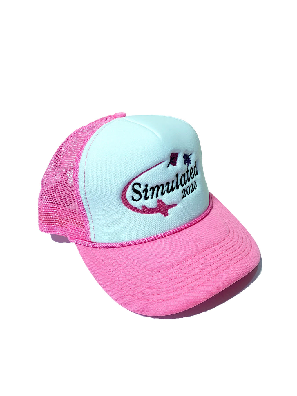 Simulated 2020 Trucker Hat Pink