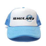 Simulated Trucker Hat Sky Blue