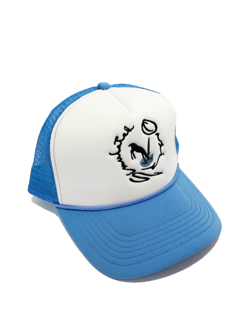 Oasis Trucker Hat Blue