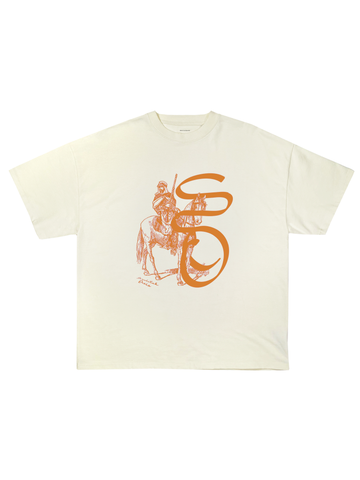 Mirage Tee Cream Orange