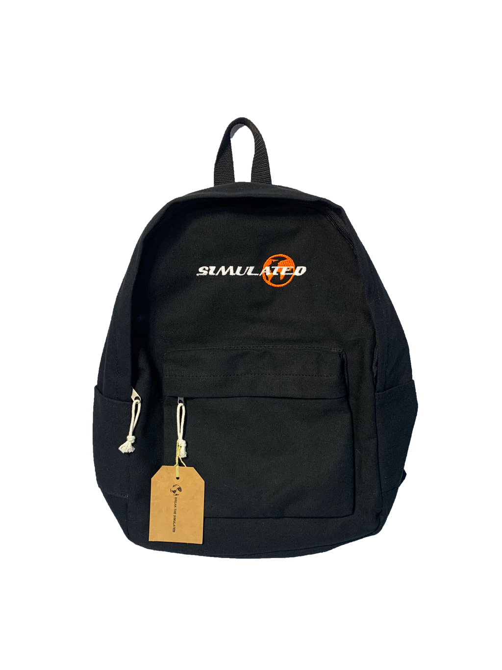 Simulated Backpack Black
