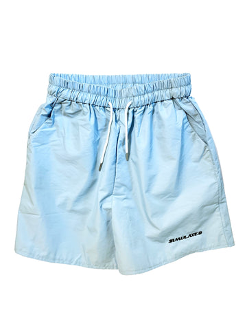 Simulated Shorts Light Blue