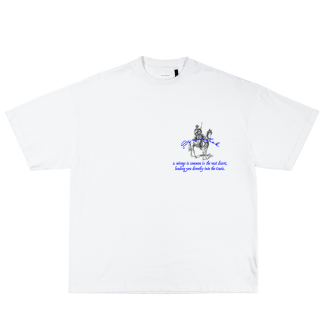 Mirage Tee White / Embroidered