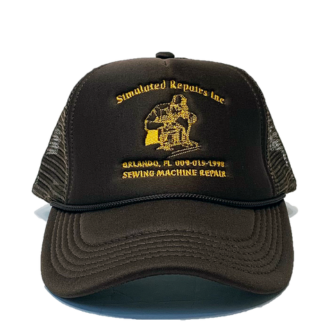 Repairs Trucker Hat Brown