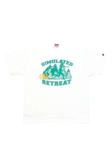 Simulated Retreat T Shirt White