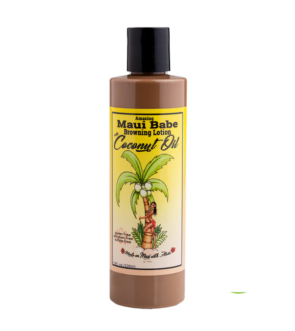 Maui Babe Coconut Browning Lotion 8 FL. OZ.