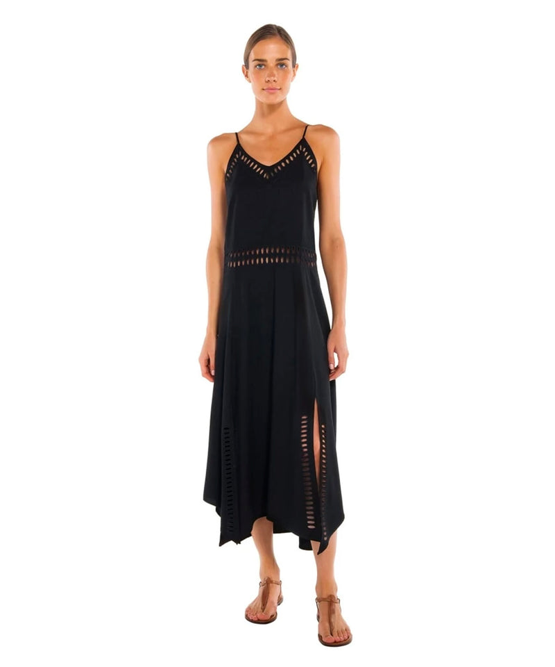 SOLID DEANA LONG DRESS