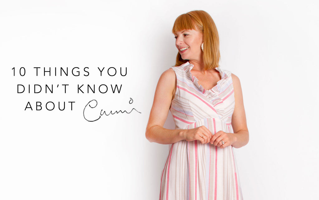 10 things you didn't know about Cami.
