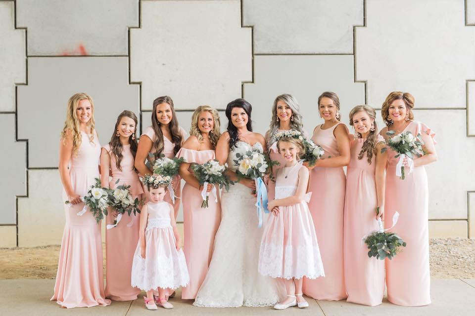 Elizabeth's Bridal Party