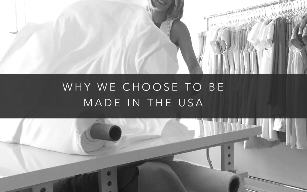 Why we choose to be made in the USA.