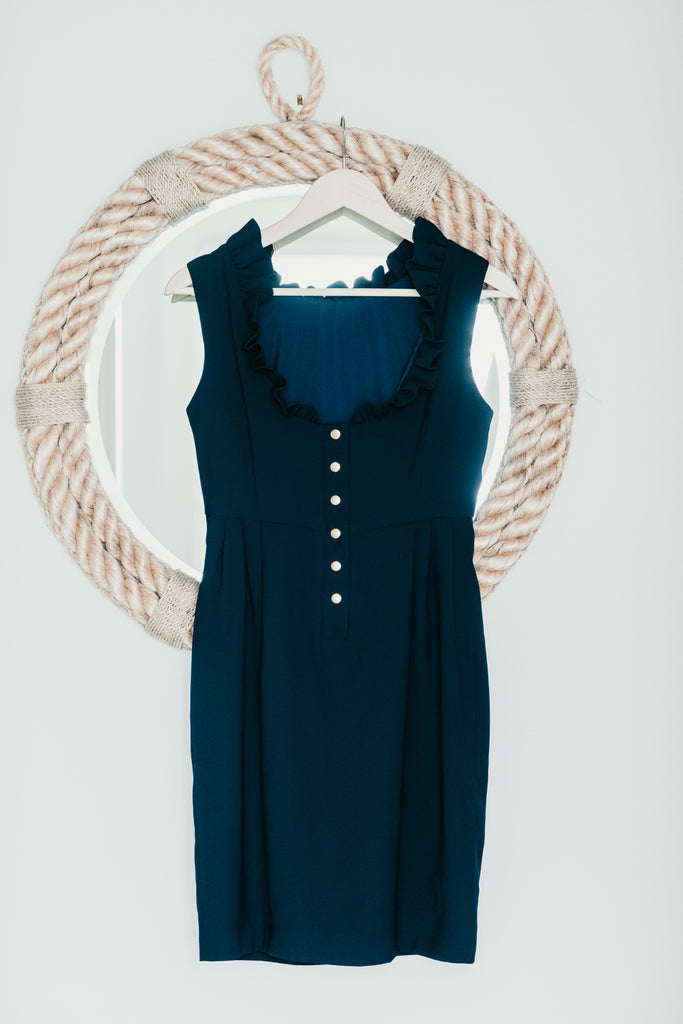 The Go Go Dress in Navy