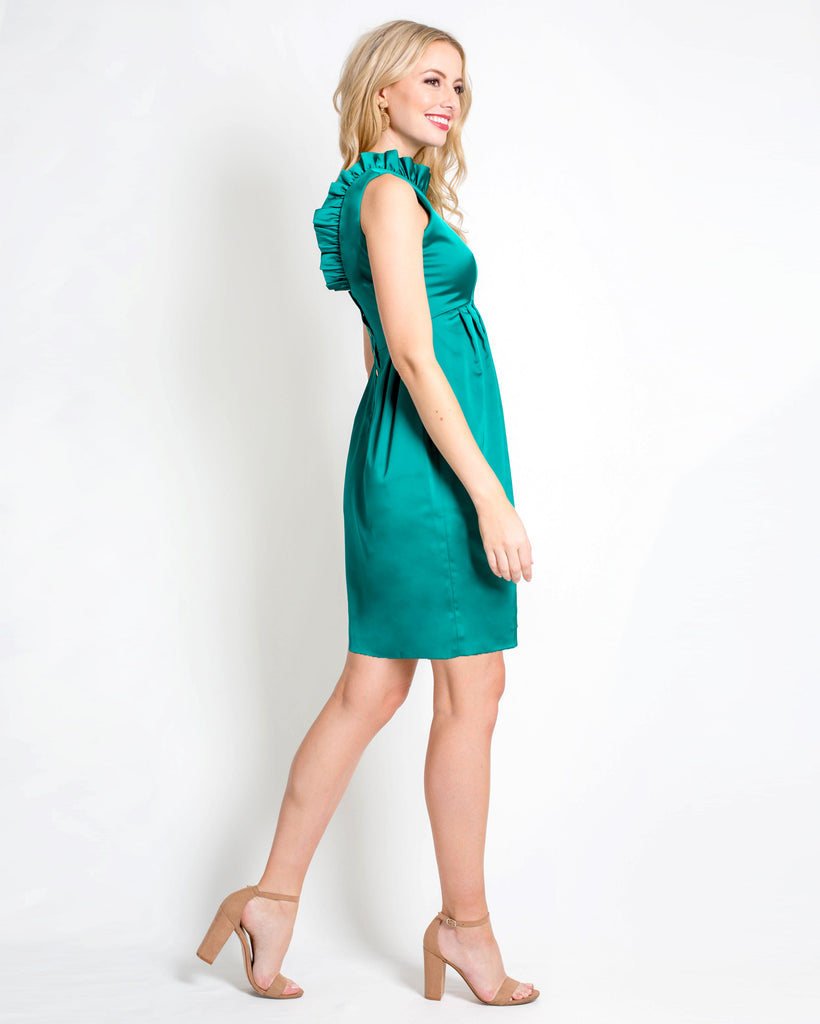 The Satin Go Go Dress