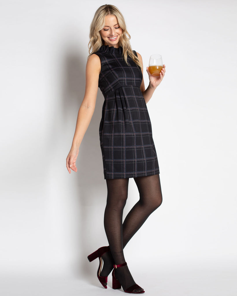 The Plaid Go Go Dress