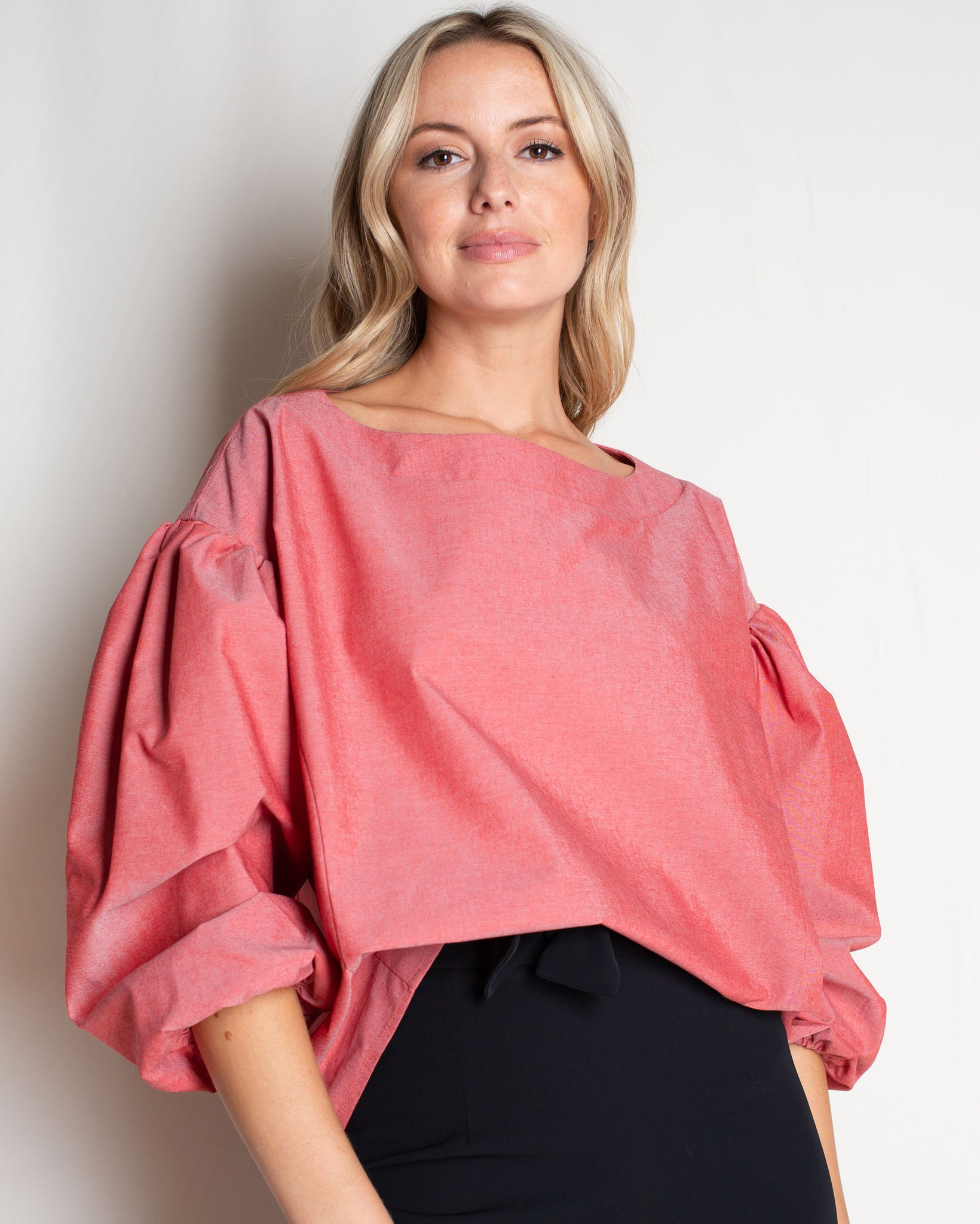 The Jewel Blouse in Cotton