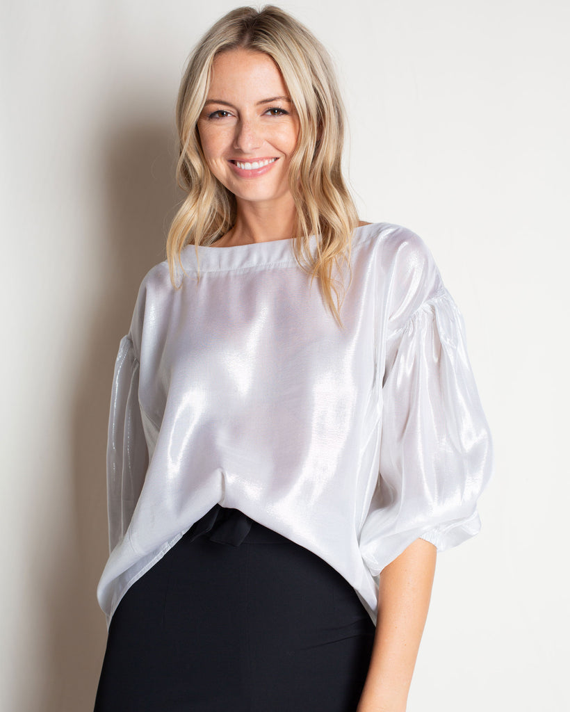 The Jewel Blouse in Silk
