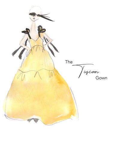 The Tuscan Gown