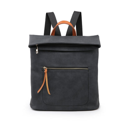 Charcoal Soft Feel Backpack