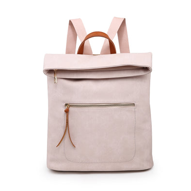 Pastel Pink Soft Feel Backpack