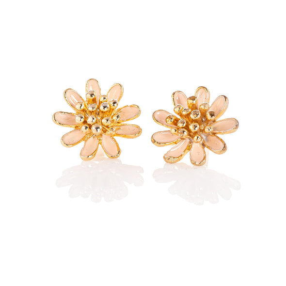Pretty Summer Daisy Sensitive Earrings