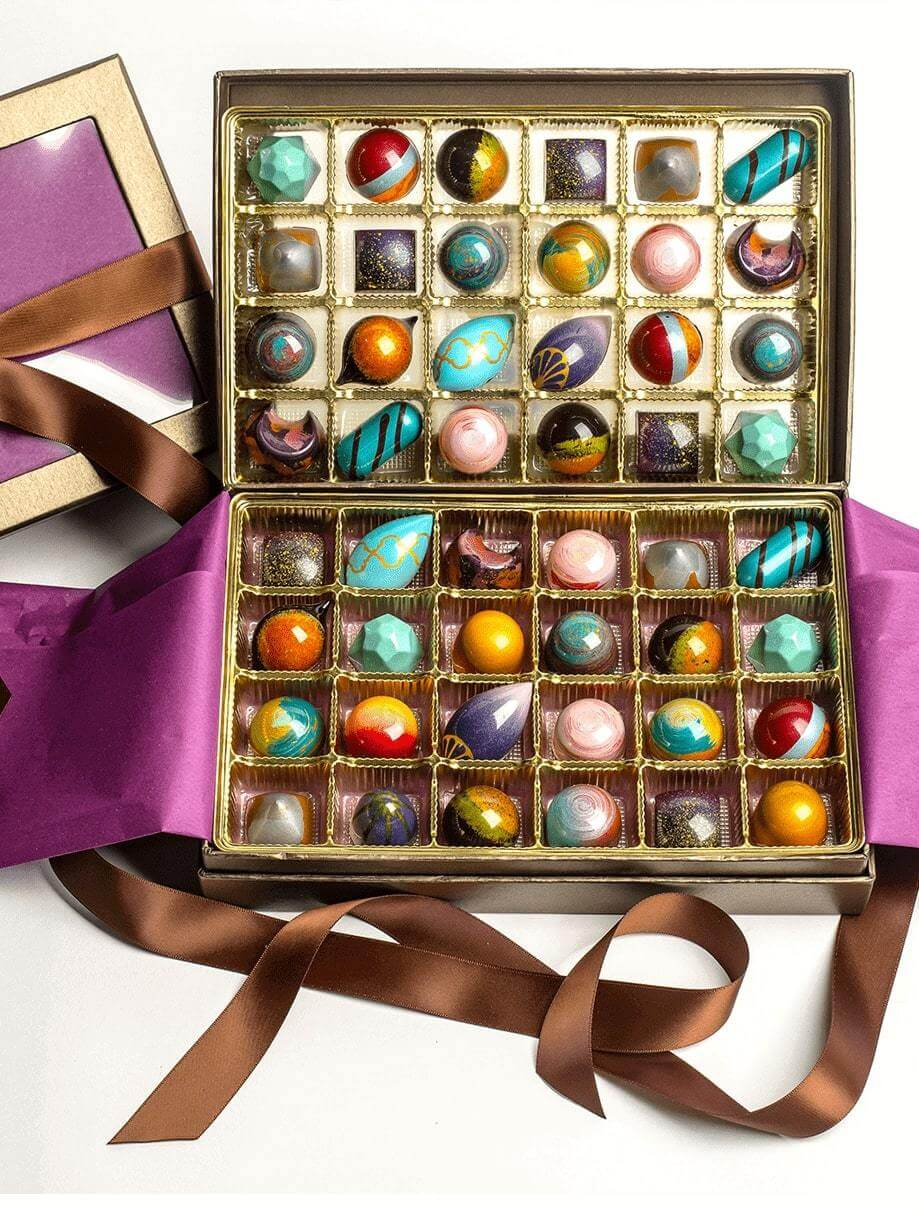 48 Pc. Chocolate Gift Box - Shop Fine Chocolates & Bonbons Online