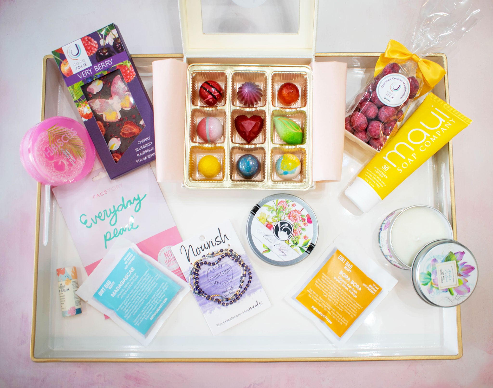 Mother's Day Spa In A Box Gift Set
