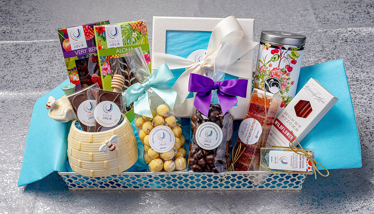 New Beginnings Gift Basket - Coco Jolie